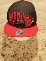 St. Louis Cardinals MLB Genuine Merchandise '47 Brand Twins Snapback Hat... - $14.96