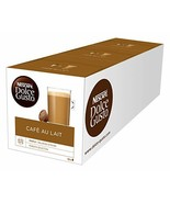 Nescaf? Dolce Gusto CAF? Au Lait Pack of 3, Total 48 Capsules - $22.12