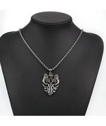 Fathers DaSteel Vintage Dragon Head Pendant Biker Men Rock Chain Fathers... - $16.65