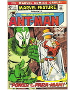 Marvel Feature Comic Book #7 Ant-Man, Marvel 1973 VFN- - $14.49
