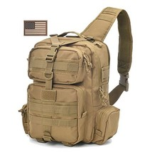 REEBOW Tactical Sling Bag Pack Military Sling Backpack Assault Range Bag... - $43.41