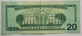 $20 Dollar Bill FRN Series 2013 Birthday Anniversary Note 04-06-1951 04061951 Ap image 3