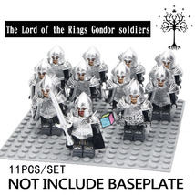 11pcs/set The Lord of the Rings Gondor Armor archer Battle for Minas Tirith Lego - $20.99
