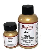 Angelus Acrylic Paint 1 Oz. (Gold) - $2.26