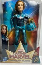Marvel Captain Marvel (Starforce) Super Hero Doll with Helmet Accessory C2 - $8.79