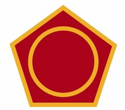 US Army 50th Infantry Division 4'' Sticker Military - $9.89
