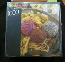 Kodacolor Satinesque 1000 pieces Basket of yarn - $19.33