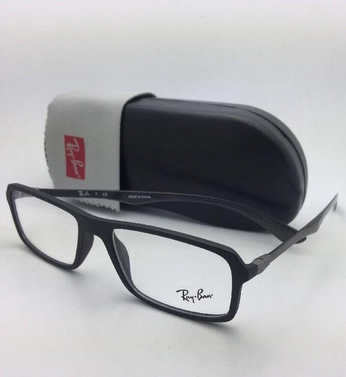 f65dc274921 RAY-BAN Eyeglasses TECH SERIES RB 8902 5196 54-17 Black   Carbon Fiber
