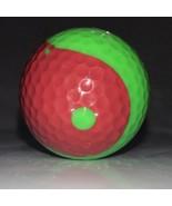 Golf Ball RED & Green YING YANG No logo Super Rare Great Collectible Dis... - $112.19