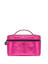 NWT Victoria's Secret Metallic Crackle Weekender Train Case - Pink - $28.54