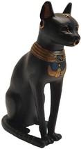 """BAST STATUE - 8"""" - BASTET EGYPTIAN GODDESS MYTHOLOGY CAT UBASTI - $37.99"""