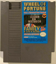 Wheel of Fortune: Family Edition Nintendo NES Cartridge Clean & Tested W... - $6.79