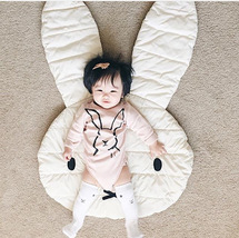 Cute Rabbit Crawling Blanket Carpet Floor Baby Bunny Play Mats Children ... - $13.74