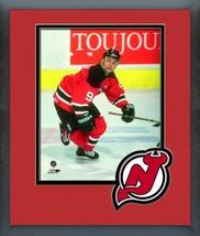 Neal Broten 1994-95 New Jersey Devils #9-11x14 Team Logo Matted/Framed P... - $42.95