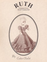 Ruth, Cedar Chalet Crochet Fashion Doll Clothing Pattern Booklet RARE & HTF - $5.95