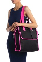New with Tag - $325 Marc Jacobs Retake Black/Pink Nylon Tote Bag - $149.99