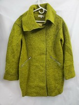 Ina Wool Blend Lime Green Coat Jacket Sz.S/M NEW 0770 - $38.56