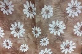 "THIN FLANNEL BACK Vinyl Tablecloth 52""x90"" Oblong,(6-8 pp) White Flowers... - €7,62 EUR"