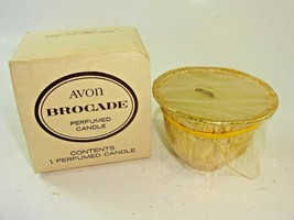 VTG Avon Brocade Perfumed Candle Fragrance Replacement ~ Unused In Box ~... - $16.04