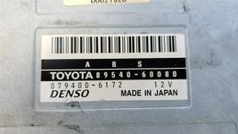 Lexus LX470 Toyota Land Cruiser ABS Anti Skid Control Module 89540-60080 image 2