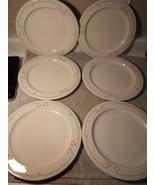 (6) SYRACUSE CHINA-DINNER  PLATES-- RESTAURANT WARE---FREE SHIP--VGC - $44.27