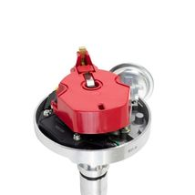 A-TEAM PERFORMANCE HEI DISTRIBUTOR 65K COMPATIBLE WITH BUICK NAILHEAD V8 RED CAP image 3