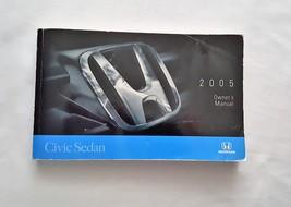 2005 Honda Civic Sedan Owners Manual 05071 - $15.79