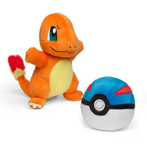 Pokemon Charmander and Great Ball Plush Gamestop Tomy Boxed Set - $28.73