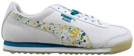 Puma Roma Ripstop Clear White/Breeze-Snapdragon 359627 01 Women's SZ 9 - $38.40