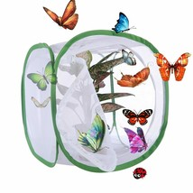 PetForu® 1pc Insect Breeding Cages Net Cloth Butterfly Mantis Stick Cyli... - $14.92+