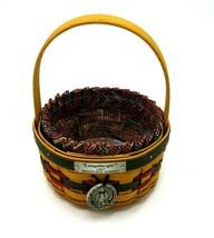 """Vintage Longaberger Basket - 1997 Inaugural Basket 5"""" - $27.95"""