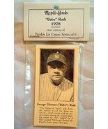 Babe Ruth Fro-Joy Ice Cream 1928 Reprint 6 Baseball Card Set NY Yankees ... - $14.99