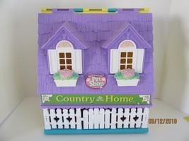 Vintage Littlest Pet Shop Country Home Playset Original decals 1996 hasbro - $20.55