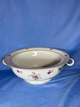 Haviland Limoges Migonette White Dinnerware Handle Vegetable Serving Bowl - $44.99
