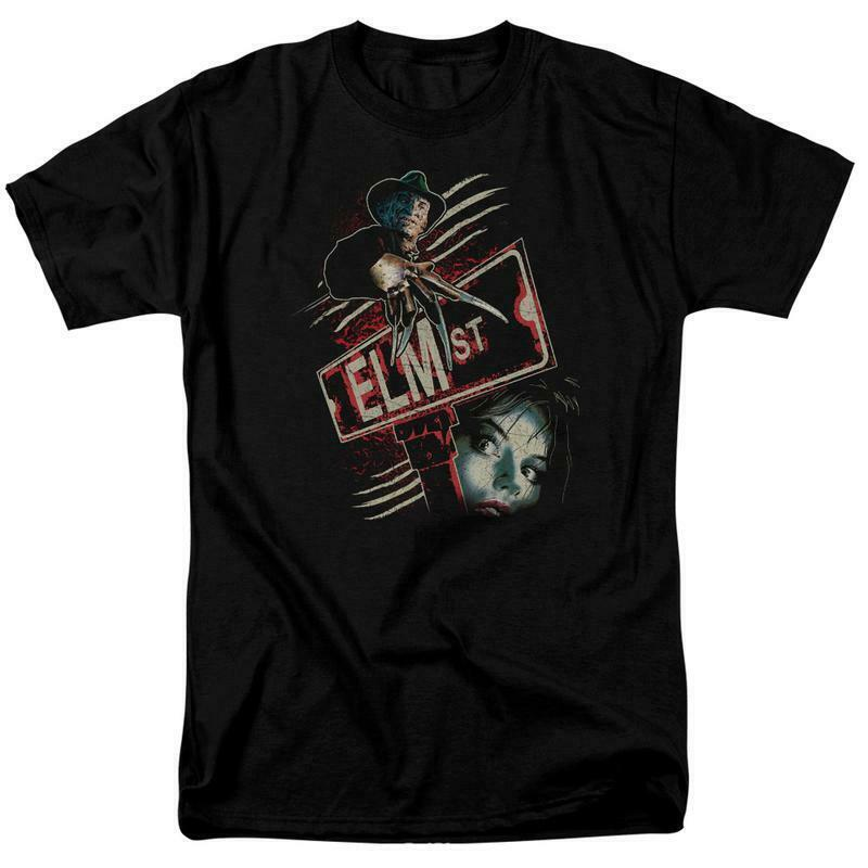 A Nightmare On Elm Street t-shirt Freddy Krueger Elm Street graphic tee WBM730