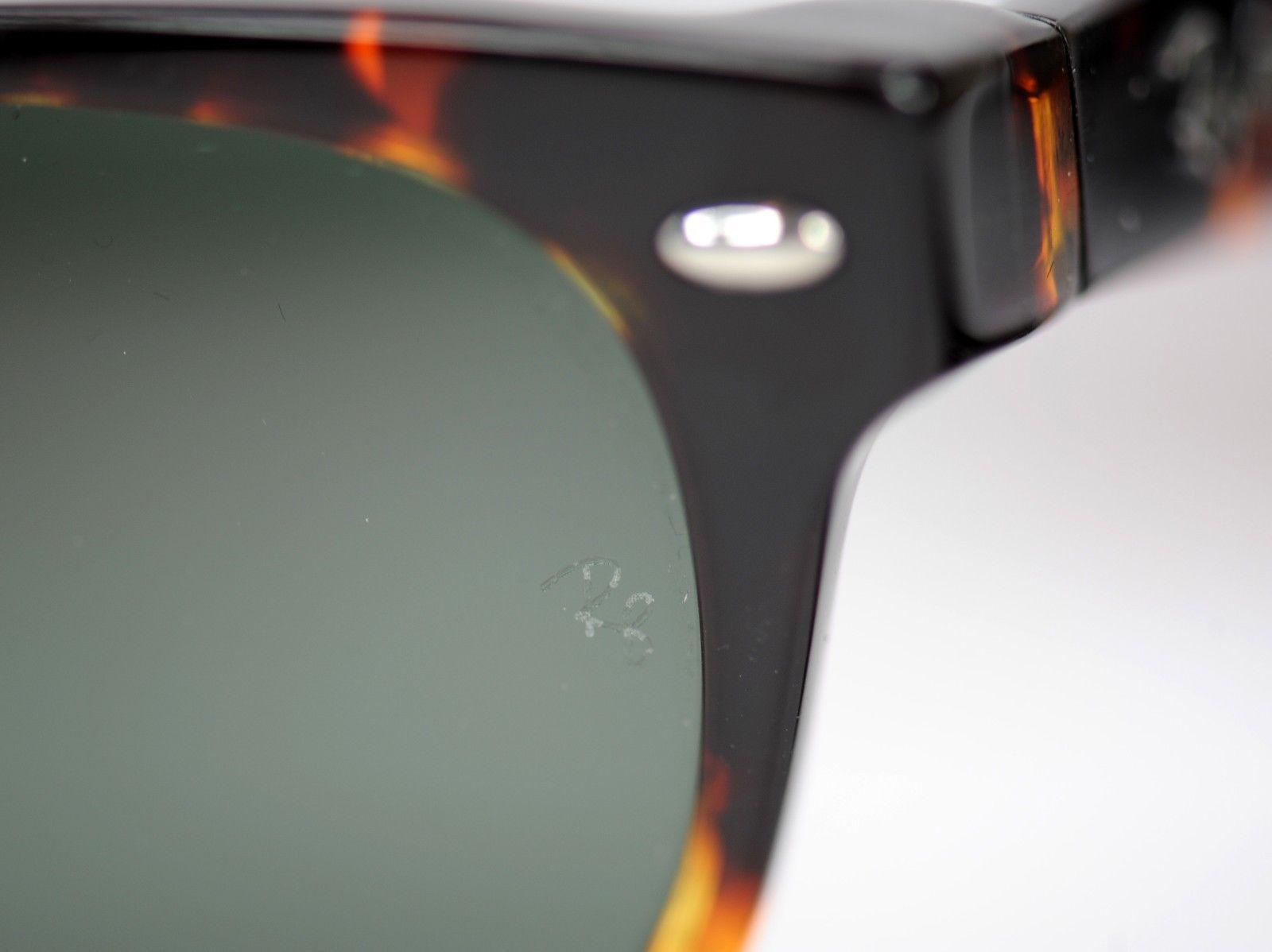... Ray-Ban New Wayfarer RB2132 902 52 Tortoise Frame   Green Classic G15  Sunglasses ... 992c8c1459f5