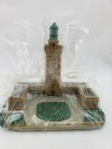 """The Danbury Mint """"Le Cap Frehel Lighthouse"""" Authentic Lighthouse Sculpture - $28.05"""