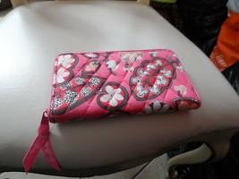 Vera Bradley Accordian Wallet in Blush Pink - $27.00