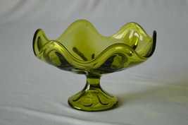 Viking Epic Six Petal Green Compote - $14.85