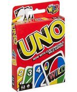 Mattel Uno Card Game with Customizable Wild Cards - £9.08 GBP