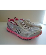 Skechers Flex 8 Women Sneakers Pink and White - $12.87