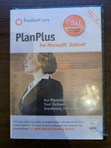 FRANKLIN COVEY PLAN PLUS FOR MICROSOFT OUTLOOK 2.0 SOFTWARE Sealed NOS - $18.95