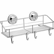 Haundry Suction Cup Shower Caddy Basket, Bathroom Corner Shower Shelf Or... - $24.52