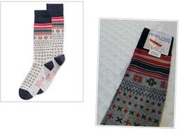 Alfani Spectrum Men's Holiday Snowflake Socks, Size 10-13 , Gray - $2.92