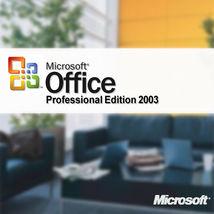 Microsoft Office Professional 2003  - genuine - $3.79