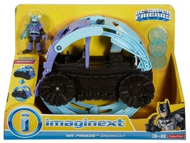 Imaginext DC Super Friends - Mr Freeze Snowcat Vehicle - DNT10 - NEW - $19.10