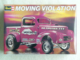 FACTORY SEALED Revell Moving Violation '41 Willys Drag Pick-Up #H-1336  - $44.54