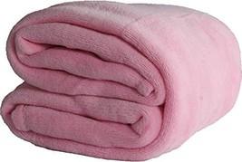 FOHOG Collection Flannel Fleece Silky Soft Throw Shaggy Blanket Lightwei... - £7.52 GBP