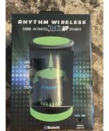 Rhythm Wireless Sound Activated Light Up Speaker - $24.73