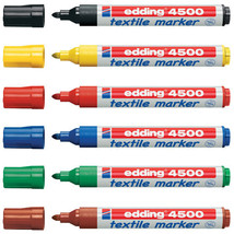 Edding TEXTILE T-SHIRT TISSU Stylo Marqueur stylo - 2 - 3mm ligne - Lot ... - $21.31